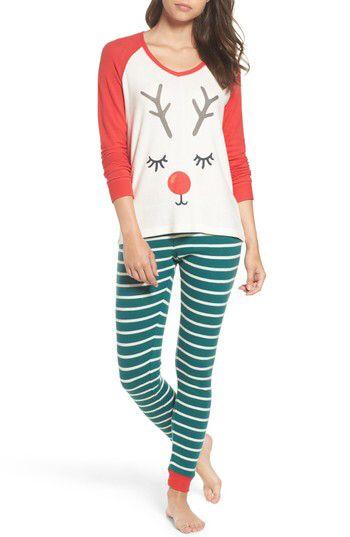 make model make model snow day graphic pajamas available at nordstrom - Nordstrom Christmas Pajamas