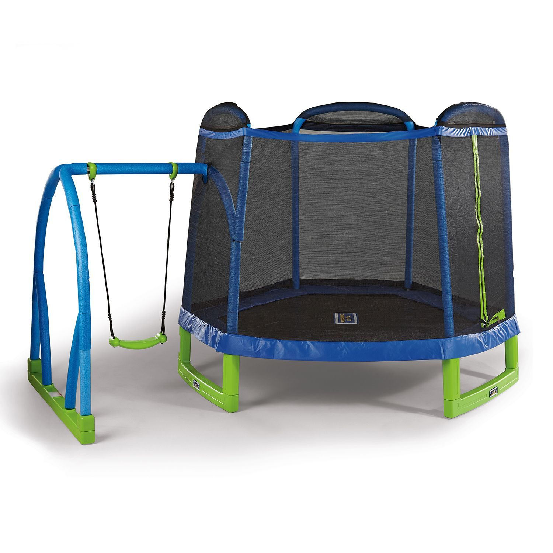 Child S Kids Boys Girls Toddlers Trampoline Jumping Swing Set