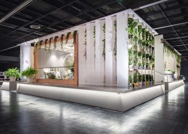 Das Haus Design At Imm Cologne Sustainable And Green Interior Decorating