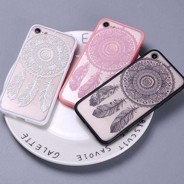 dfca849465f Sexy Fashion Lace Boho Dream Catcher Feather Mandala Tribal Phone ...