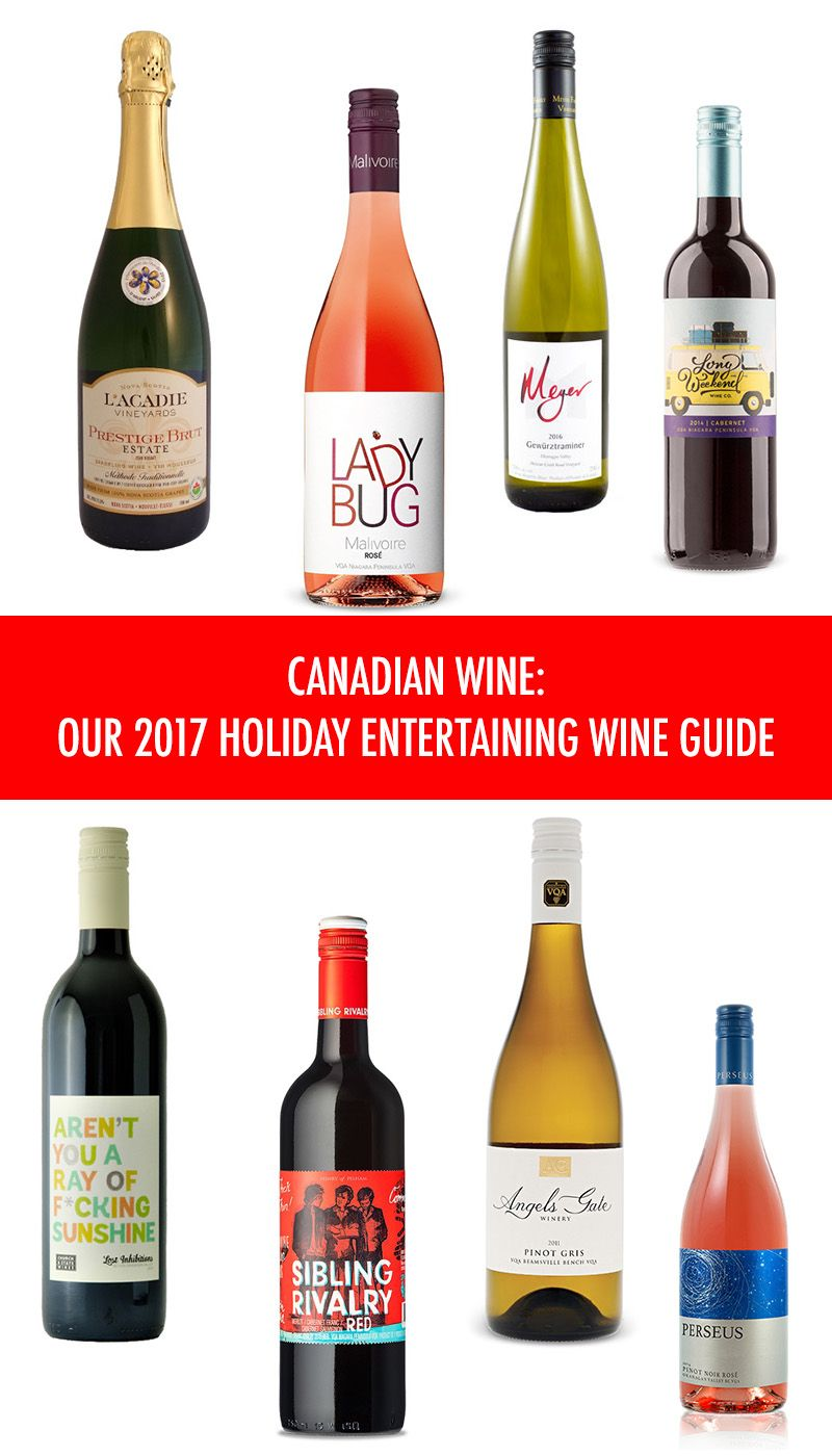 2017 Holiday Entertaining Canadian Wine Guide With Images Wine Entertaining Wine Guide Holiday Entertaining