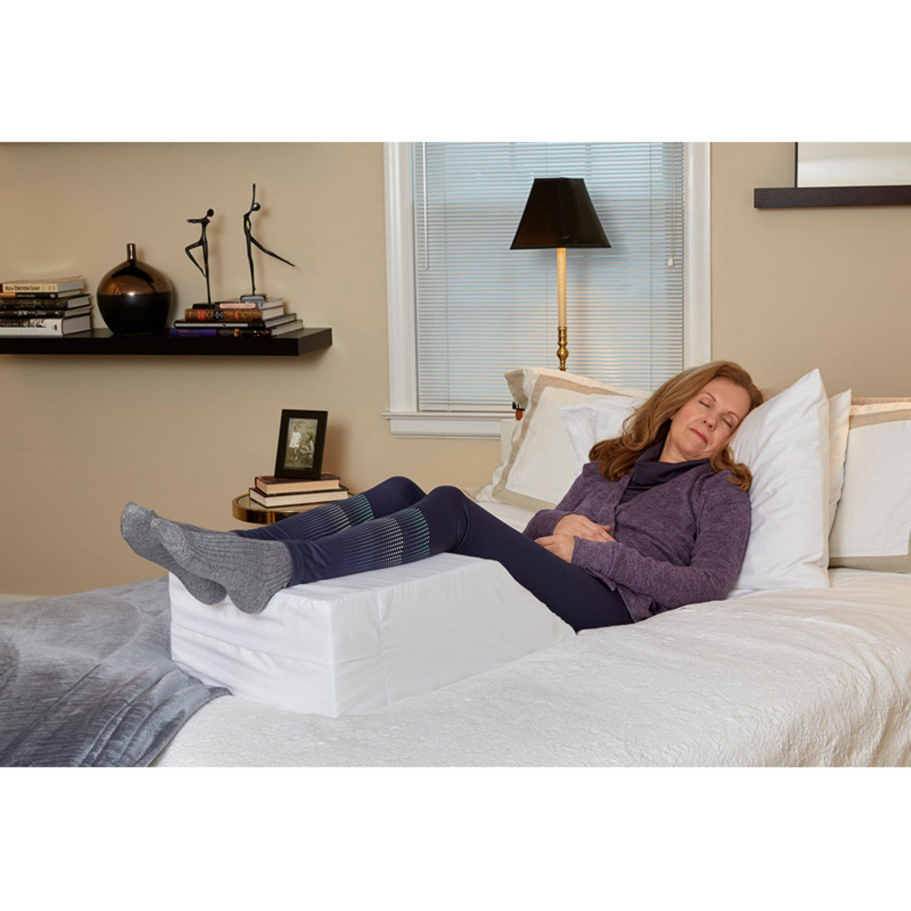 Hermell Elevating Leg Rest - Mj4020wrsb Products Foot Remedies Pain