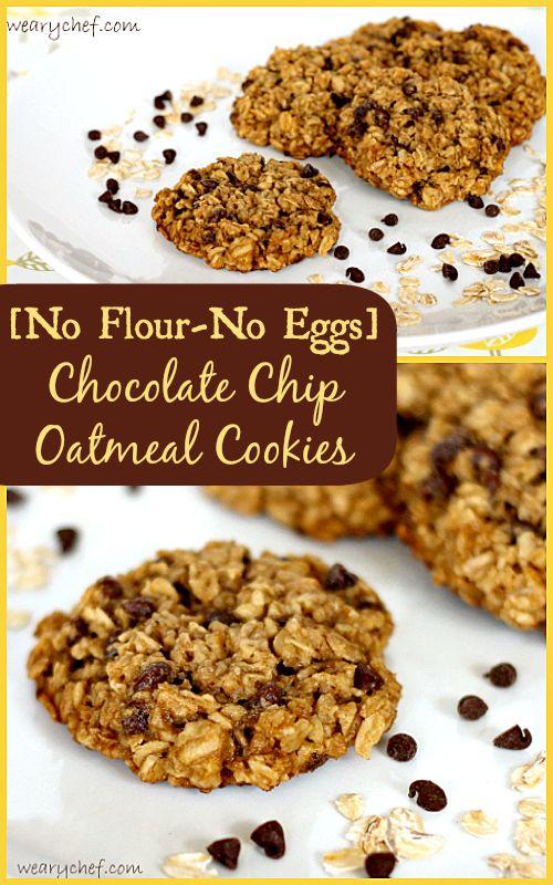 Flourless Eggless Cookies Recipe