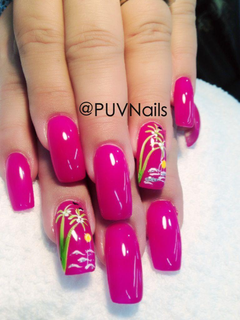 Summer gel nails design nails5 pinterest summer gel nails summer gel nails design prinsesfo Image collections