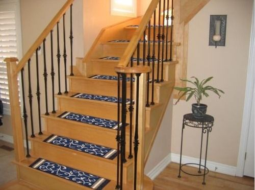 Best Details About Set Of 14 Carpet Stair Treads Washable 400 x 300
