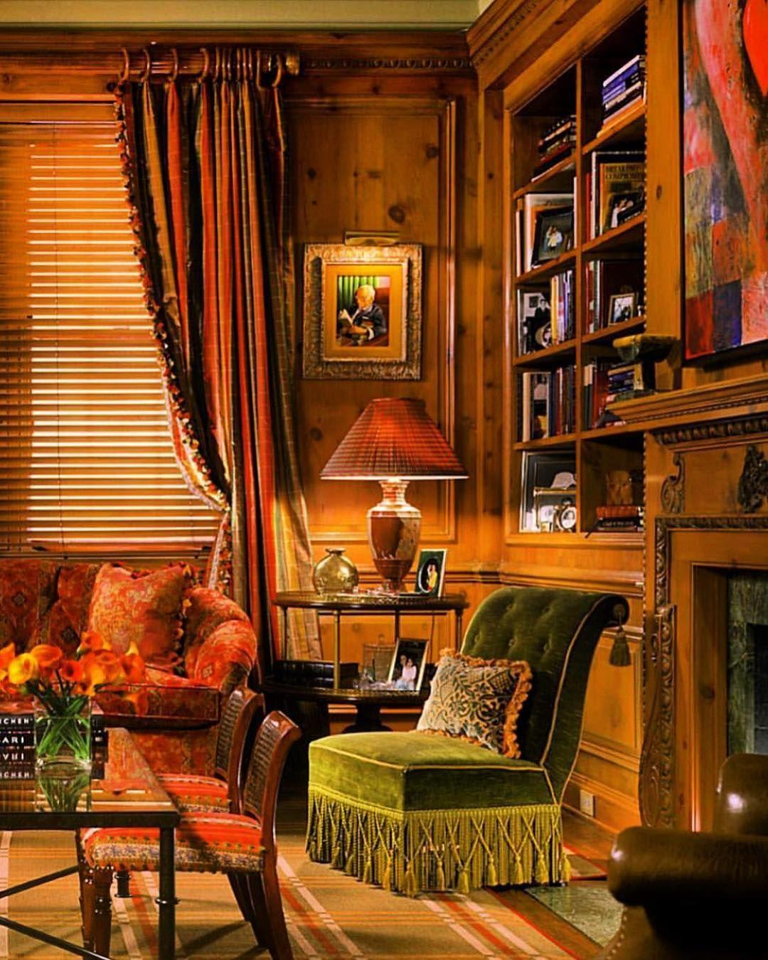 Home Librarydesign Ideas: Scheffer Interiors&ObjetsD'art On Instagram: Via