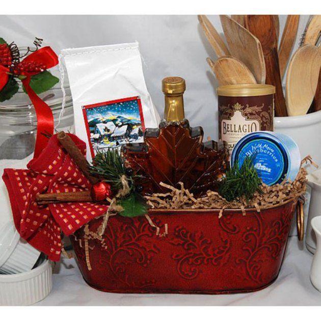 Christmas morning gift basket pancake mix syrup jam coffee christmas morning gift basket pancake mix syrup jam coffee negle Image collections