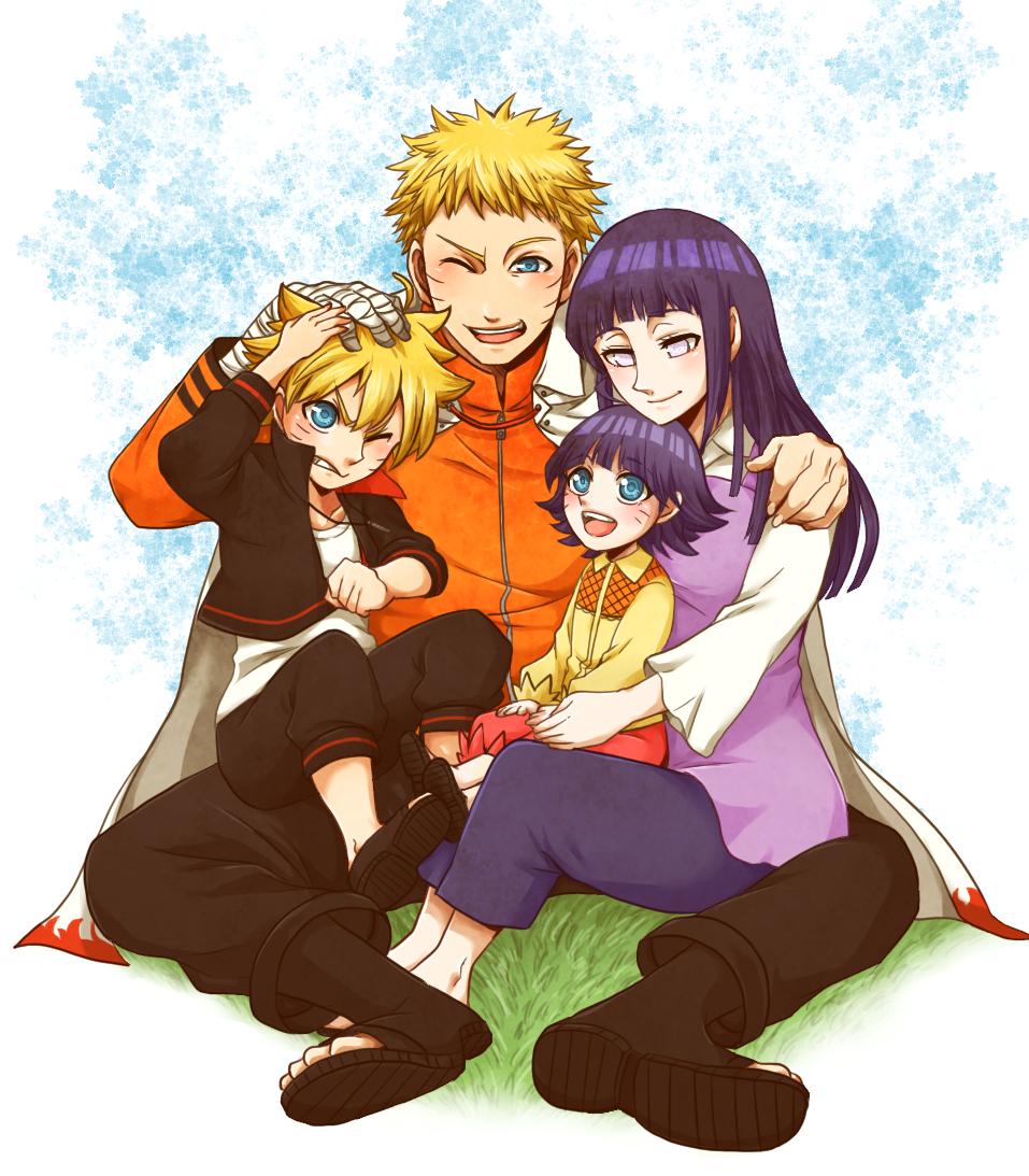 uzumaki family a familia mais linda do mundo Naruhina