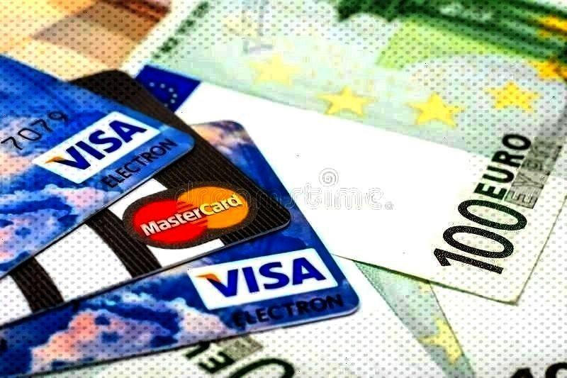 card ads And Mastercard Credit Cards Over Euro Banknotes BUCHAREST ROMANIA  DECEM credit card ads Visa AAnd Mastercard Credit Cards Over Euro Banknotes BUCHAREST ROMANIA...