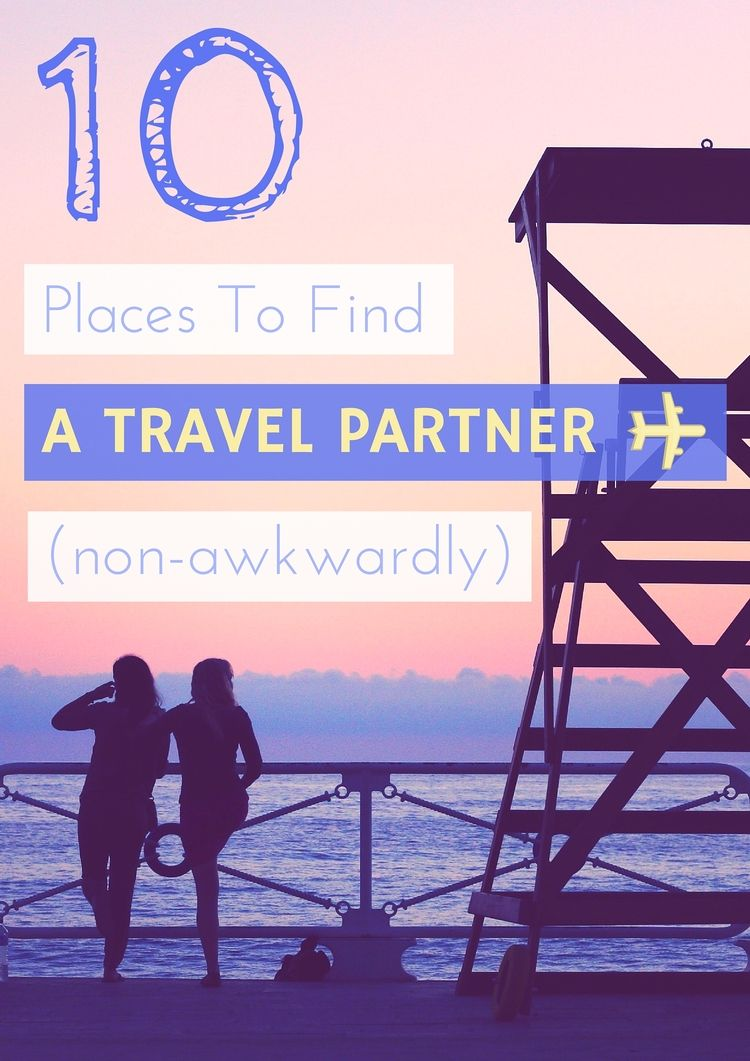 Female partner for travel