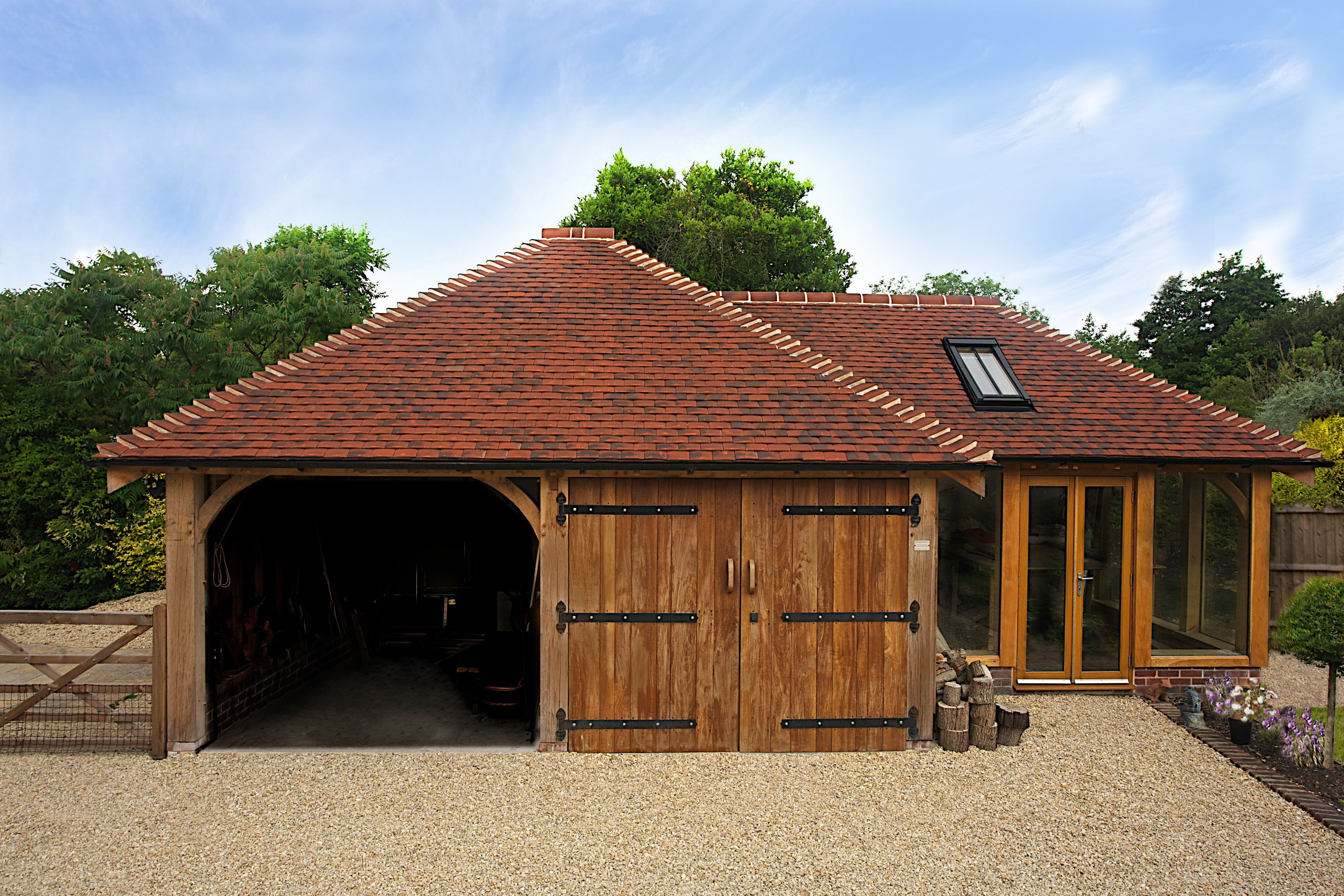 We have been building oak garages since 2003 and offer a