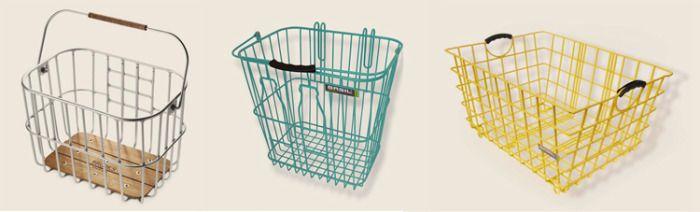 A modern take on the old milk bottle basket #organizing