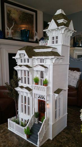 San Francisco House by Gregg's Miniature Imaginations #victoriandollhouse