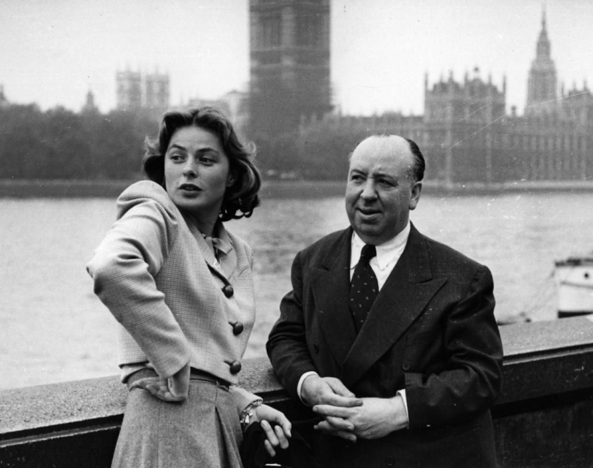 Ingrid Bergman and Alfred Hitchcock, 1948 - Photos - Alfred Hitchcock's leading ladies | Ingrid bergman, Alfred hitchcock, Hitchcock
