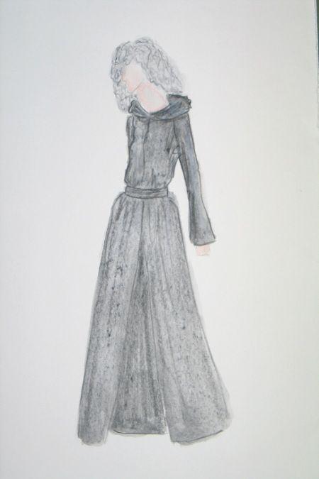 Entwurf Hexe, Oper Hänsel und Gretel