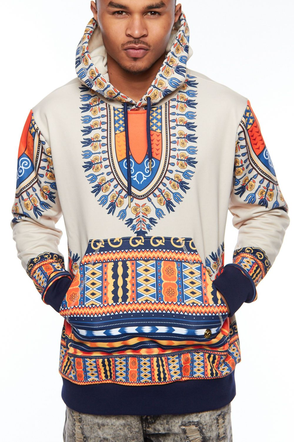 89005906b7f Africa 155241  Mens Hipster African Swag Dashiki Print Fashion Traditional  Hoodie Jacket 030414 -  BUY IT NOW ONLY   84 on eBay!