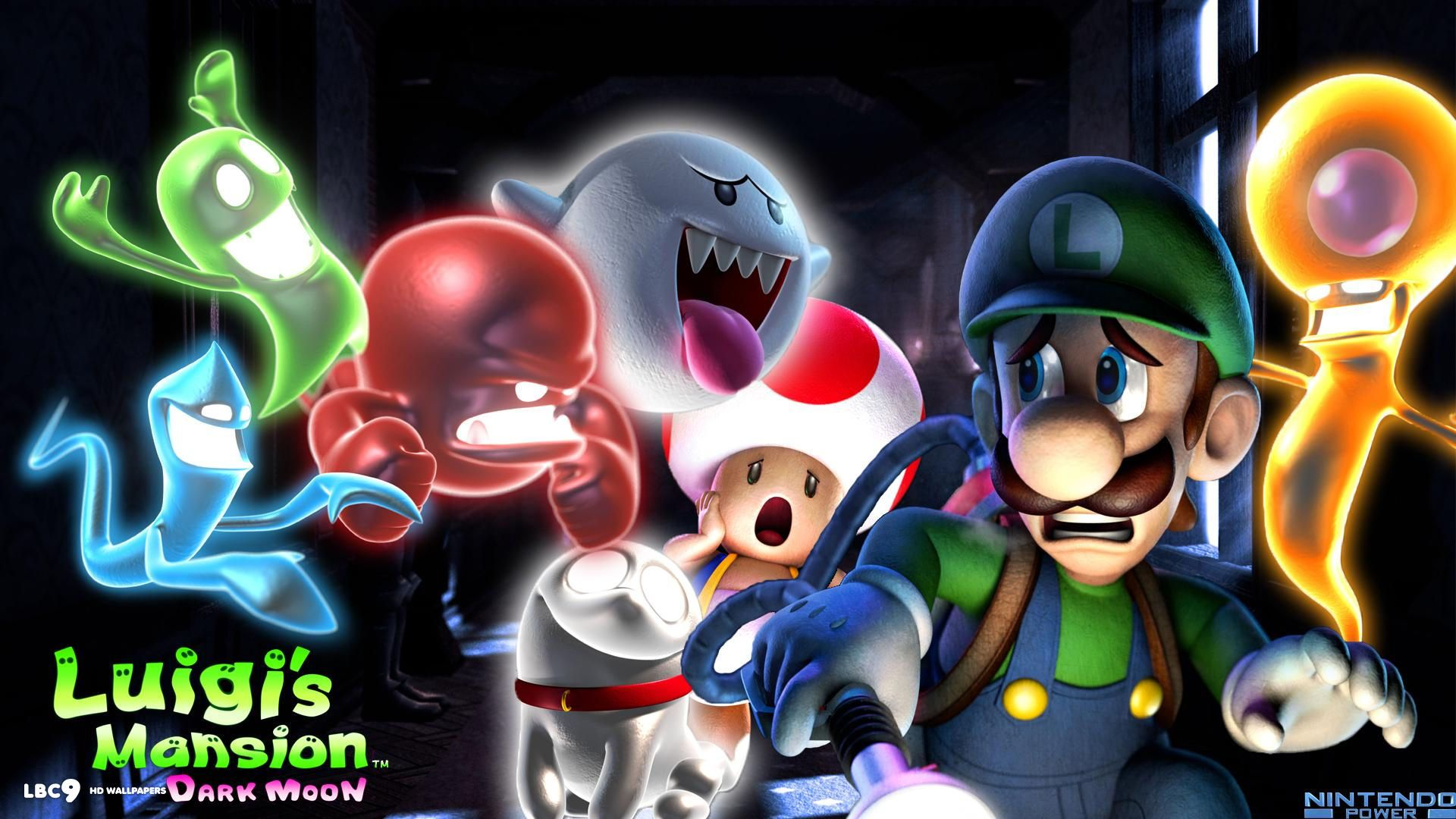 Luigis Mansion Dark Moon Wallpaper 1920x1080 Luigi S Mansion