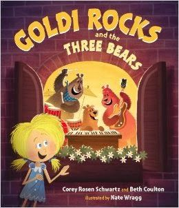 Goldi Rocks and the Three Bears by Corey Rosen Schwartz & Beth Coulton, Illustrated by Nate Wragg (on Mr. Pig Live!)