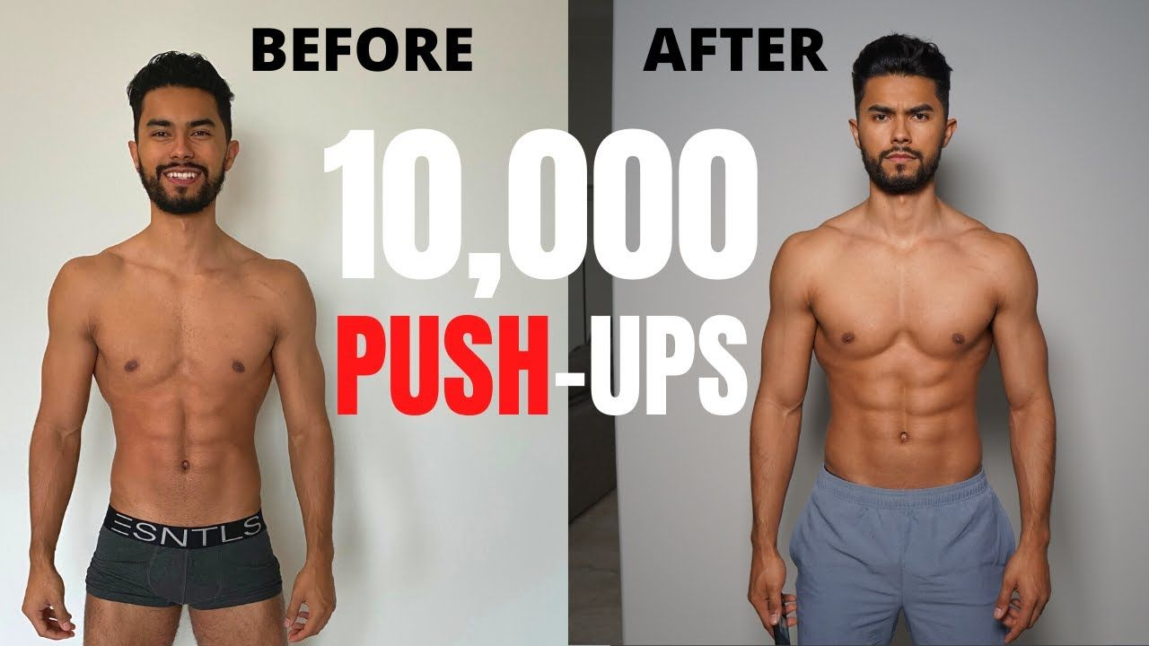 I Did 300 Pushups Every Day For 30 Days And This Happened Gym Workout For Beginners 300 Pushups A Day 30 Day Transformation
