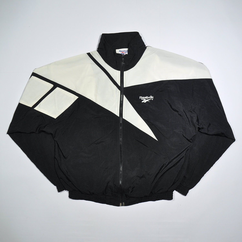 80835f6ab62ff Vintage 90s REEBOK Windbreaker / REEBOK Shell Spray Hip Hop Jacket ...