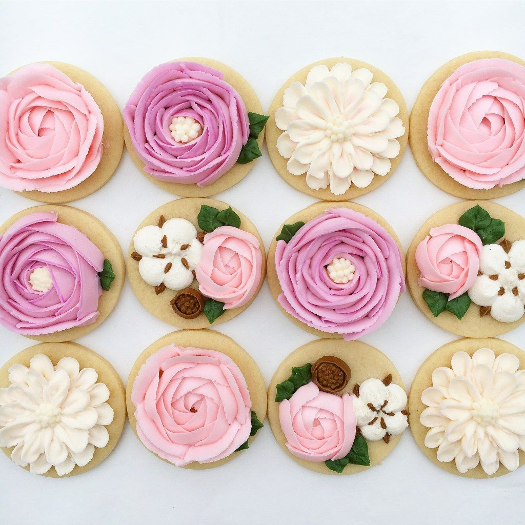 My Flower Cookies The Hutch Oven The Hutch Oven Pinterest