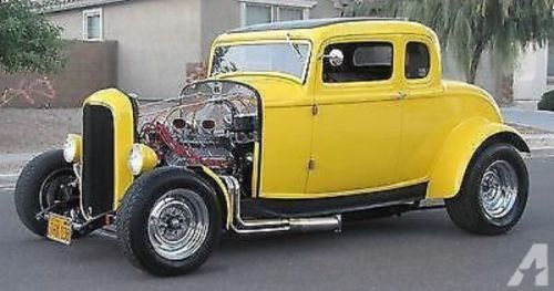 American Graffiti 32 Ford 1932 Ford 5 Window Deuce Coupe