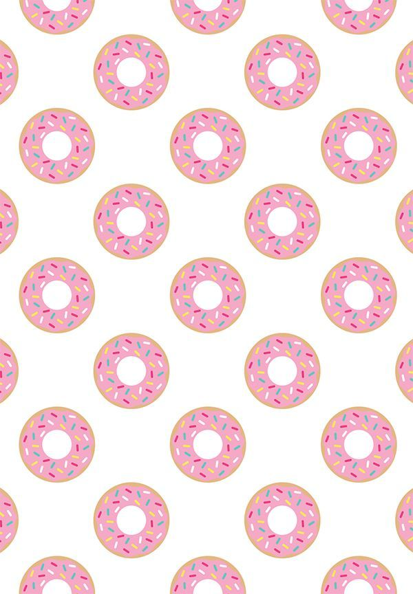 ???????donuts, background, colorful, donut ? kawaii?? ...