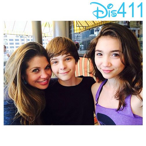 Photo: Corey Fogelmanis & Rowan Blanchard Had Lunch With Danielle ...
