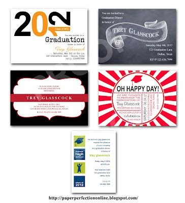 a few graduation dinner party invitations my party printables