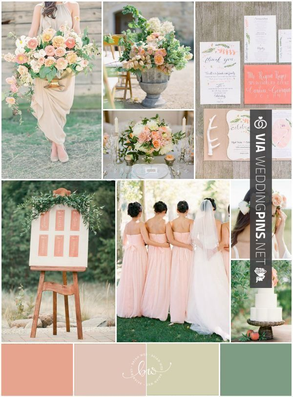 Wedding Colour Schemes 2016