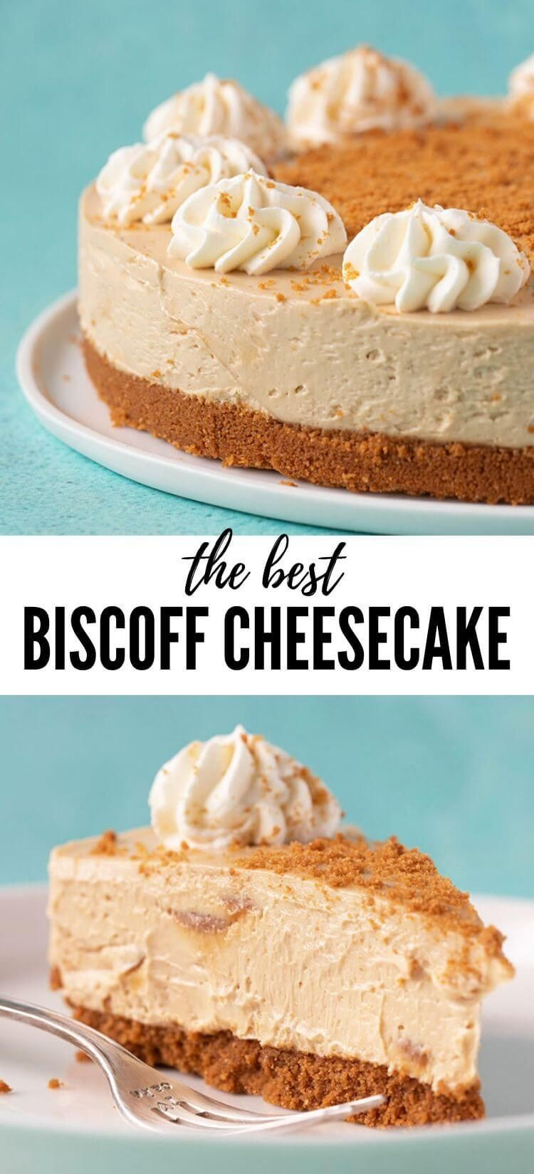 Amazing Biscoff Cheesecake (No Bake) - Sweetest Menu
