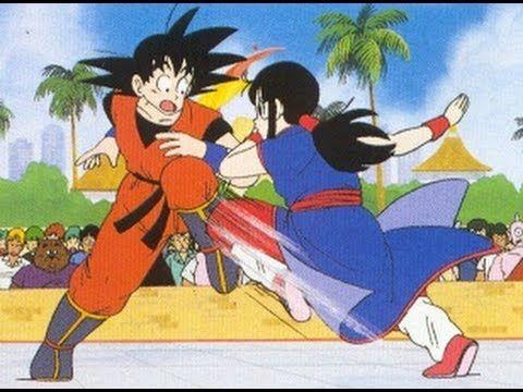 Goku Vs Chi Chi Full Fight Hd Goku Goku Vs Dragon Ball Z