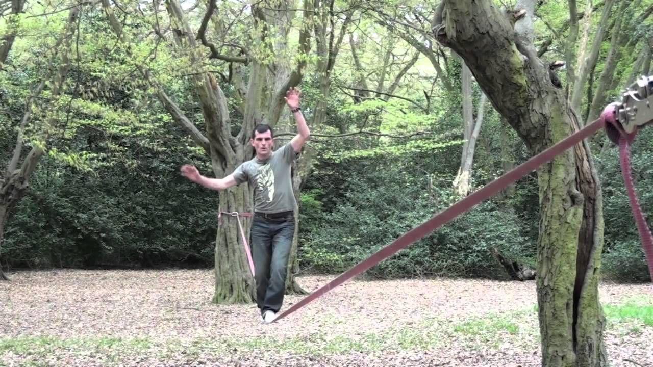 slackline tricks for beginners physical education pinterest