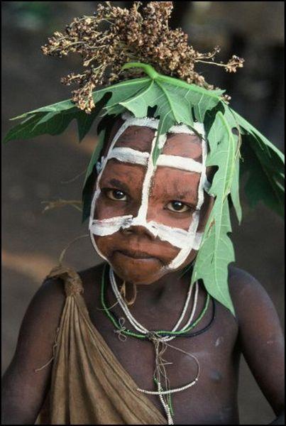 África, Etiopía, el valle del río Omo, Omo Sur Hamer tribu