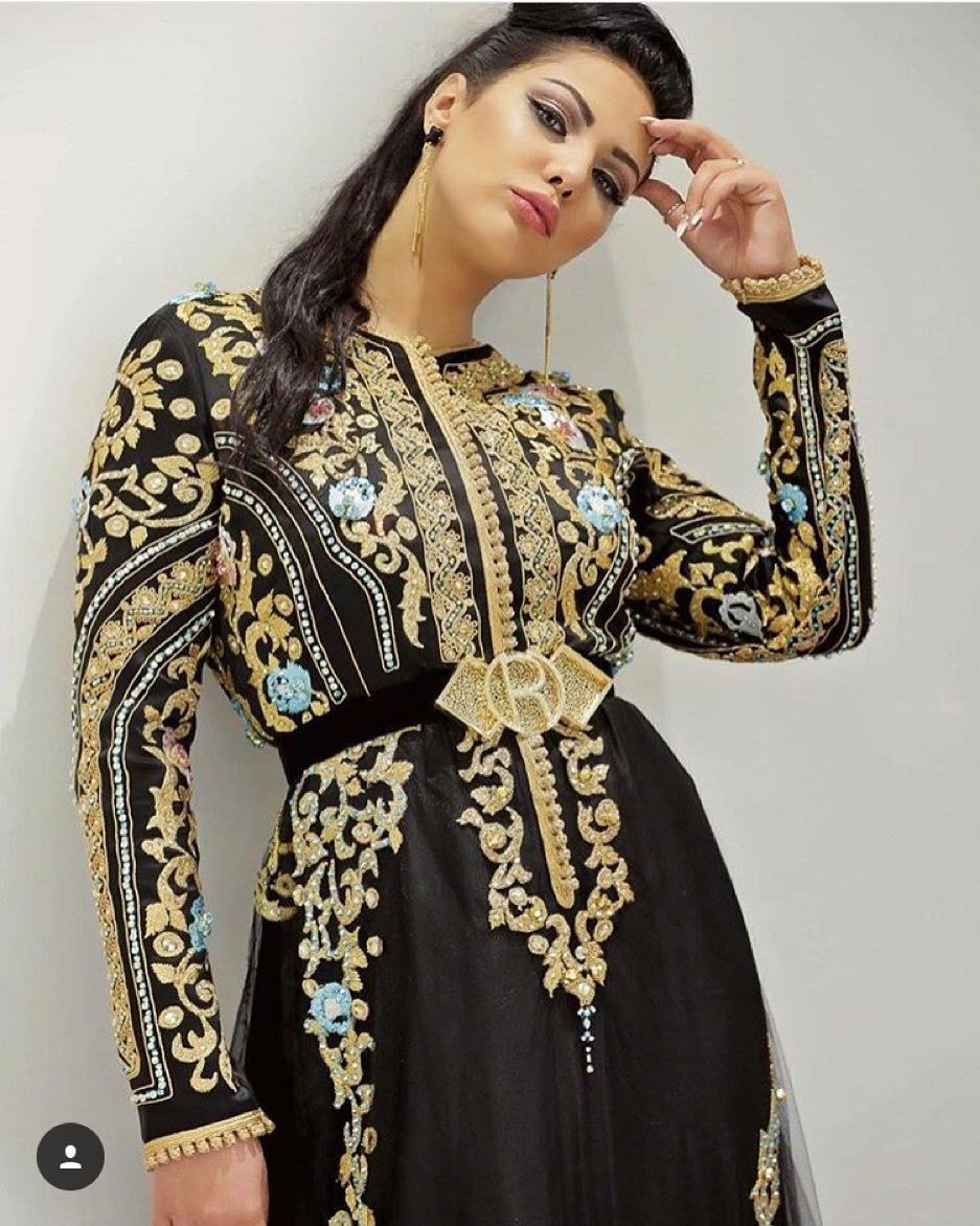 16 9 K Mentions J Aime 577 Commentaires Ibtissam Tiskat Ibtissamtiskatofficial Sur Instagram Ro Long Sleeve Dress Desi Beauty Dresses With Sleeves