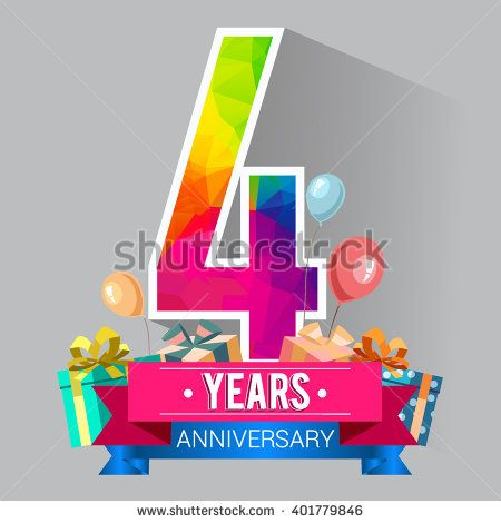 Image result for 4 years celebration