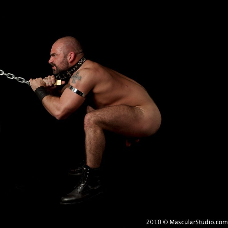 from Ronald chained gay nude