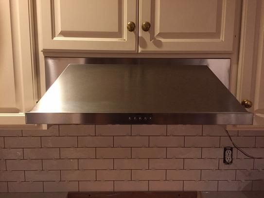 Maytag 30 in Convertible Under Cabinet Range Hood with