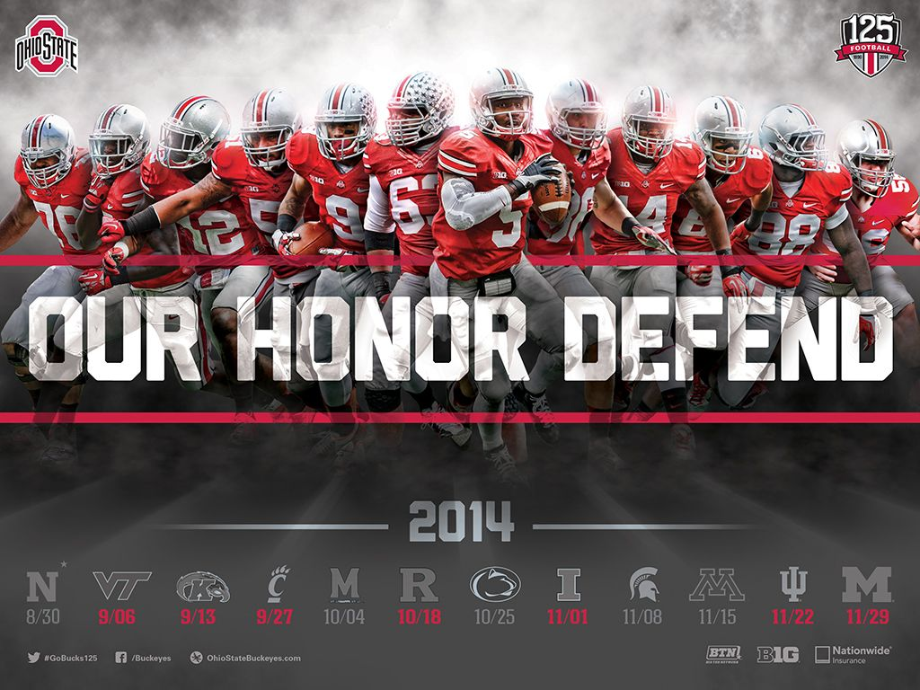 2014 Ohio State Buckeyes Football Sport Poster Swag See All The Latest And Grea Ohio State Buckeyes Football Buckeyes Football Ohio State Football Schedule