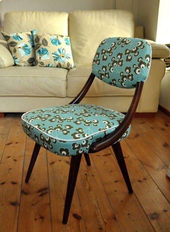 Retro chair tapicer a pinterest sillas restauraci n for Sillas para viejitos
