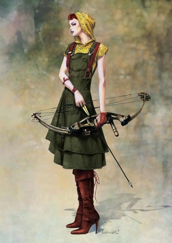 Steampunk Fashion Guide: Steampunk Huntress
