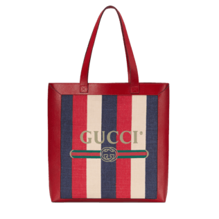 b5a2ad229b7827 Gucci Print medium tote   My Gift Want List   Organized Joy ...