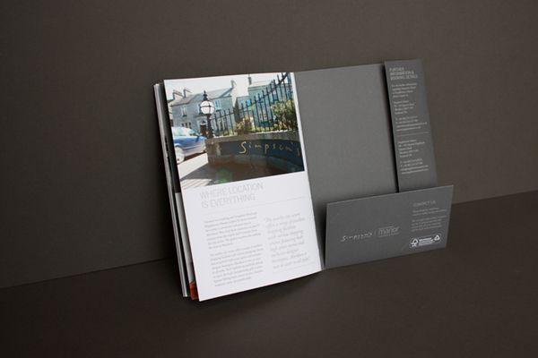 Simpsonu0027s Brochure Pack by Effektive Design Design Inspiration - resume presentation folder