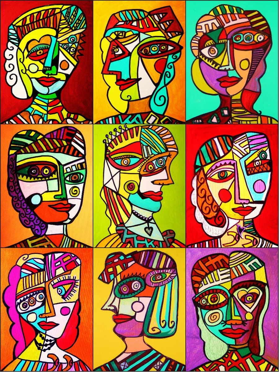 Pin By Kathy Ostberg On Teaching Art With Images Picasso Art Cubist Art Cubism Art