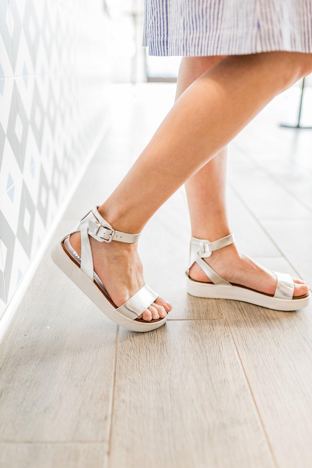 b415a4692b2f MIA  The Ellen Sandal in Silver