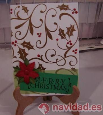 tarjetas navideñas hechas a mano - Buscar con Google Ideas