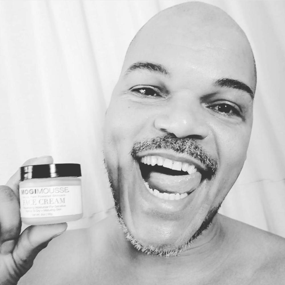 Anthony + MOGI MOUSSE Face Cream Plant based skincare