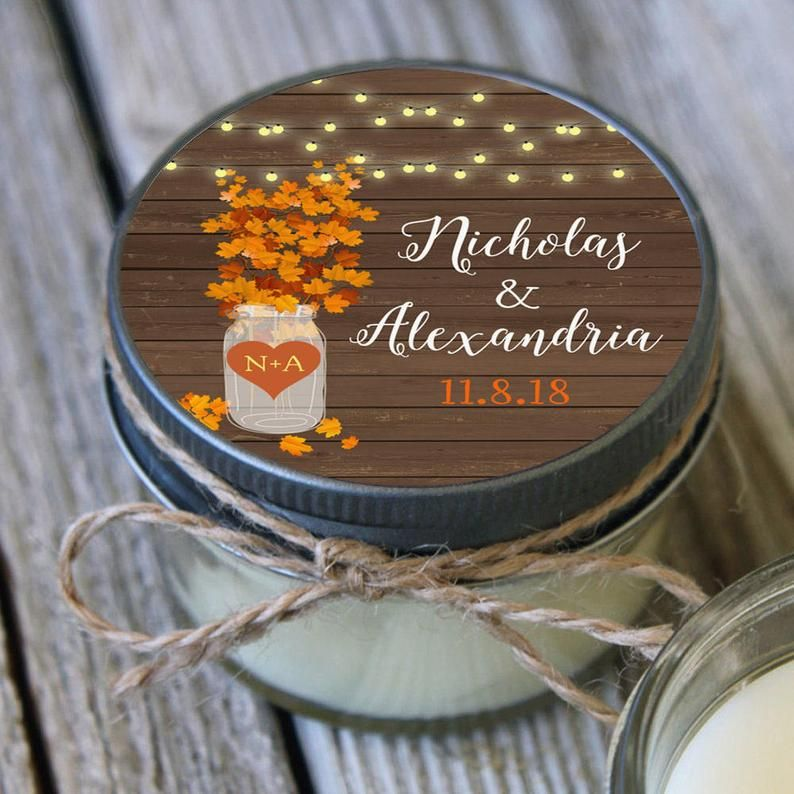 8 most unique fall wedding favors 2019 where to buy in
