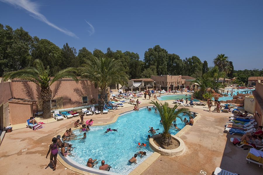 Charming Piscine Chauffée De 90m²   Camping Les Palmiers à Hyères · Les Palmiers Camping LaSwimming Pools