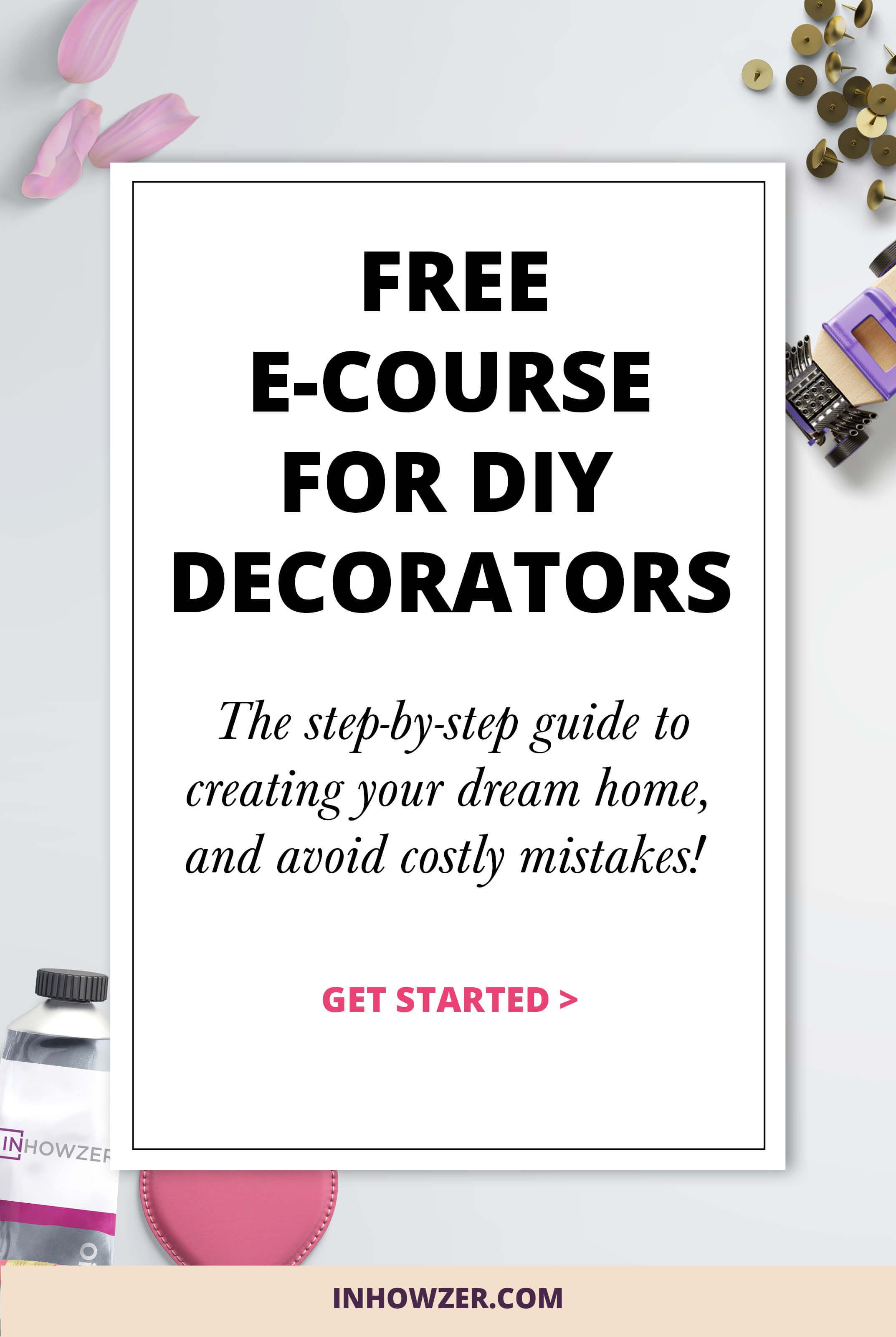 Learn How To Decorate Your Home With This Free Interior Design E Course. I
